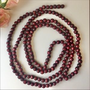 Countrycore Cottagecore Wooden Bead Strand…